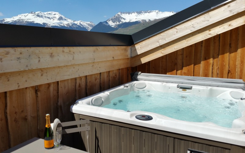 Roof top Hottub