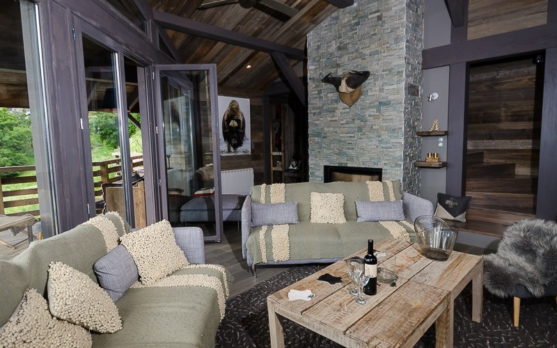 catered luxury chalet