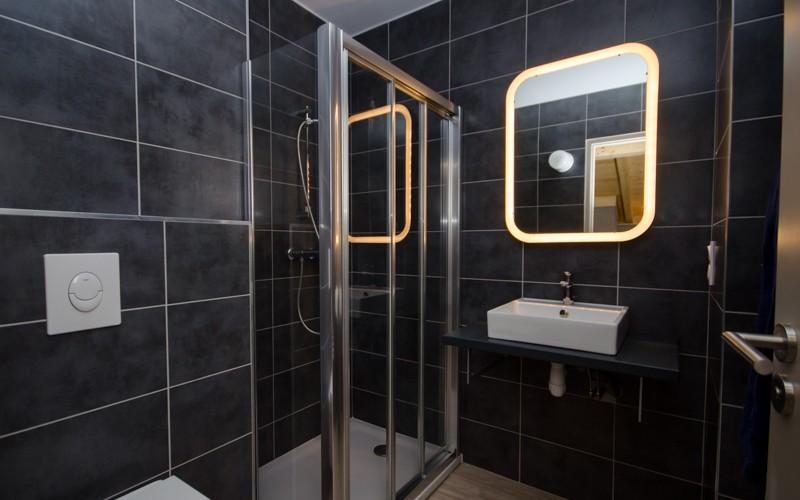 Chalet Hermine shower