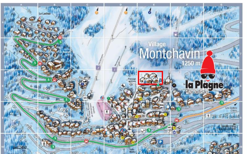 Paradiski area - Montchavin