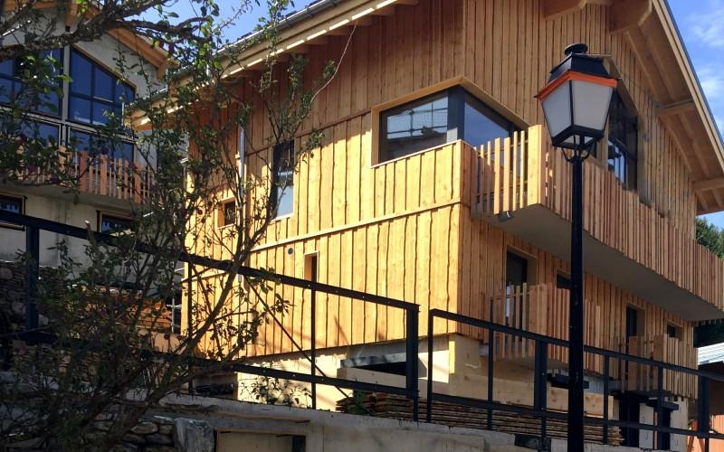 Chalet Lievre Blanc - exterior view