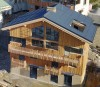 Chalet Hermine - aerial view